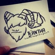 Inktober Bantha