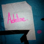 Adeline - le collage