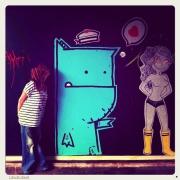 Monstre bleu X Marygribouille @LH