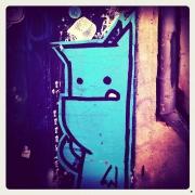 Monstre bleu @Toulouse