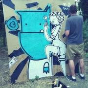 Monstre bleu X SKZ! @Toulouse