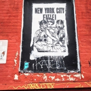 Monstre bleu NYC feat Faile