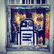 Collage le gardien de la ville