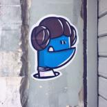 Monstre bleu Leia